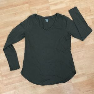 Old Navy Dark Green Long Sleeve